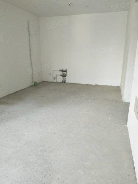 中华世纪城90平2室2厅,毛坯现房2室客厅朝阳随时能看房