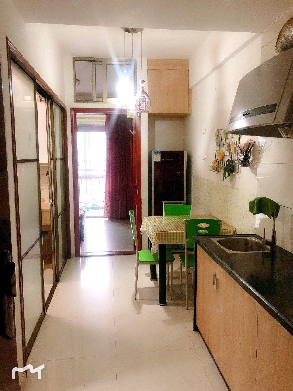 塔辉花苑独门独户单身公寓可做两房带大阳台设备齐全