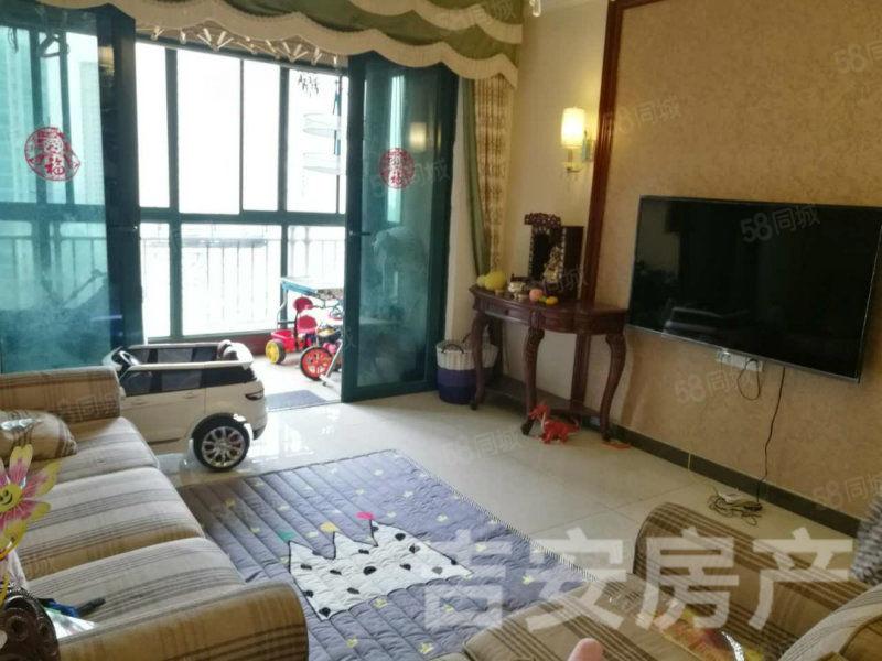 恒大名都精装家具家电全带三室两厅两卫房出售!