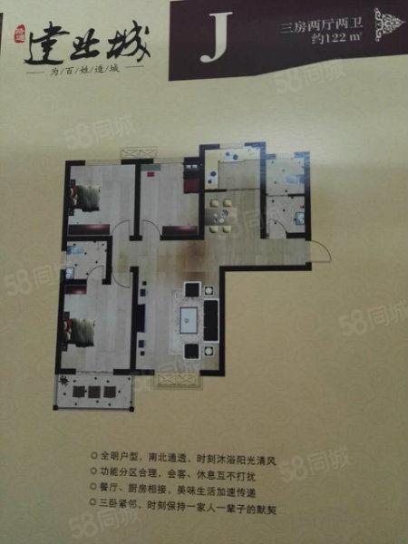 飞机场附近七层电梯三室房,团购价不收中介费可贷款