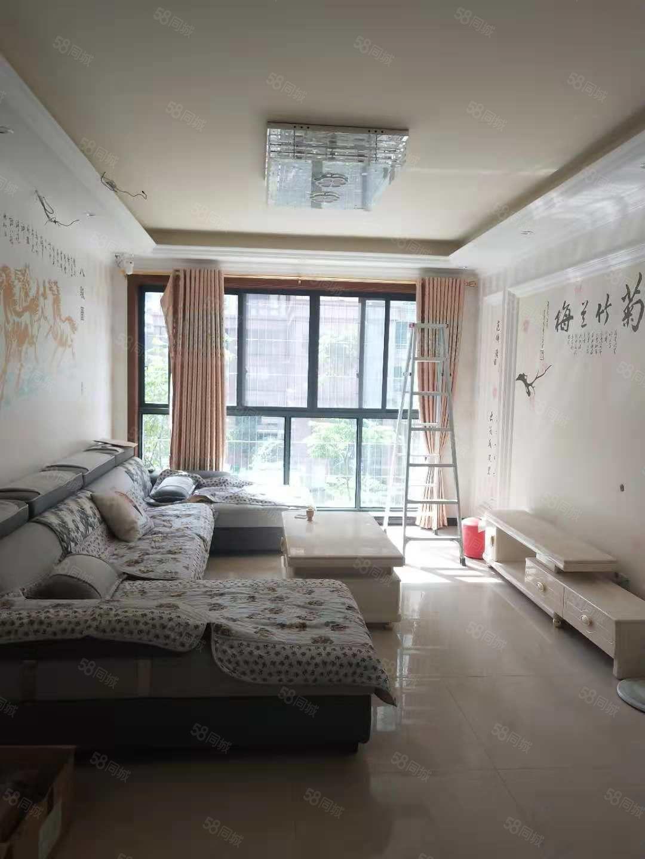 河东中铁尚城澜庭首次出租四个空调装修好家具家电齐全