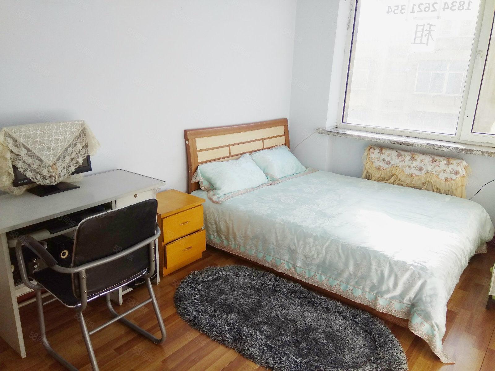 温馨两室西安街市场市医院附近室内干净立正设施齐全拎包住