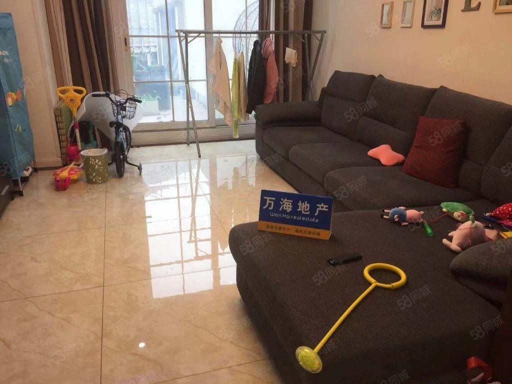 下江北临港邻里城新小区价格便宜还包物业费只需拎包入住房。