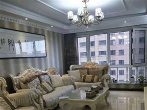 绿洲春城125平电梯11楼南北正房南明厅欧式豪华装修拎包入住