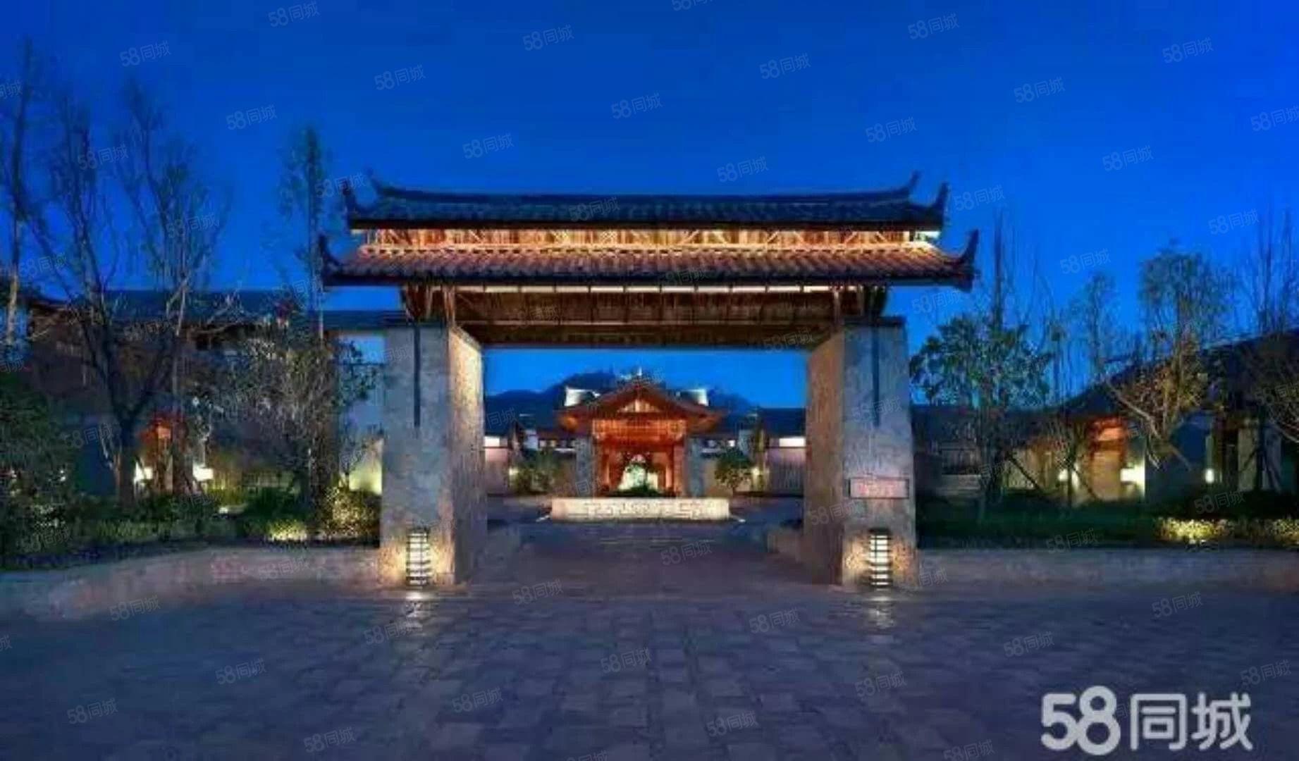 金茂谷镇园林独栋别墅让您感受东巴异域风情