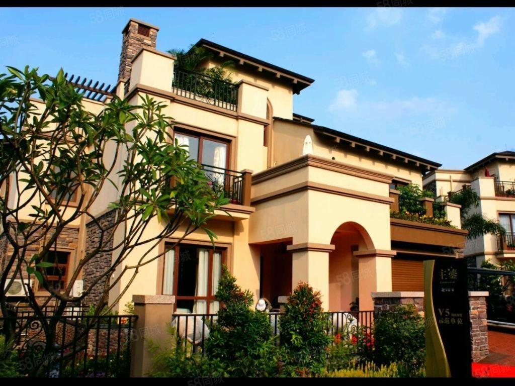 半岛一号三期豪华别墅+大花园价格可讲业主诚心出售