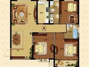 恒美华庭三室两厅两卫124平米46.5万