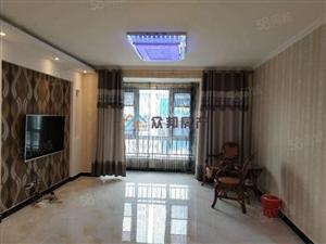 左岸豪庭,精装修3室,从未入住,多层电梯洋房,业主还包更名!