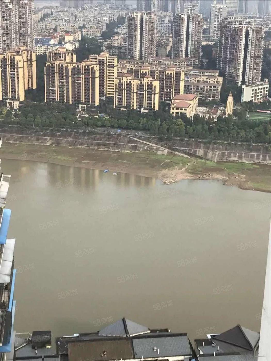 龙透关景林苑梓小学位房带30平米平台花园看酒城乐园+长江