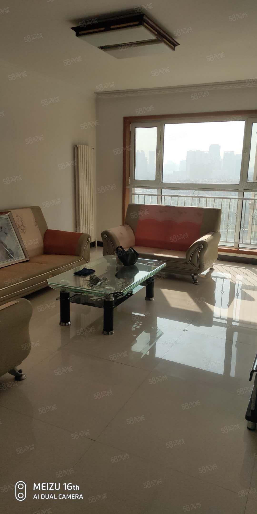 随时看房蓝湾国际2室2厅精装修拎包入住靠近六合御庭