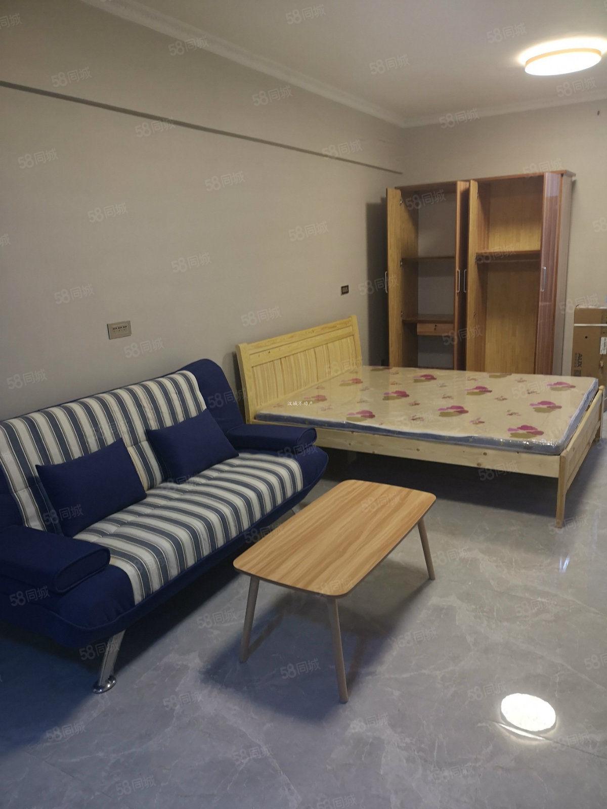 市中心505广场(中桥大厦)一室精装配置齐全随时入住