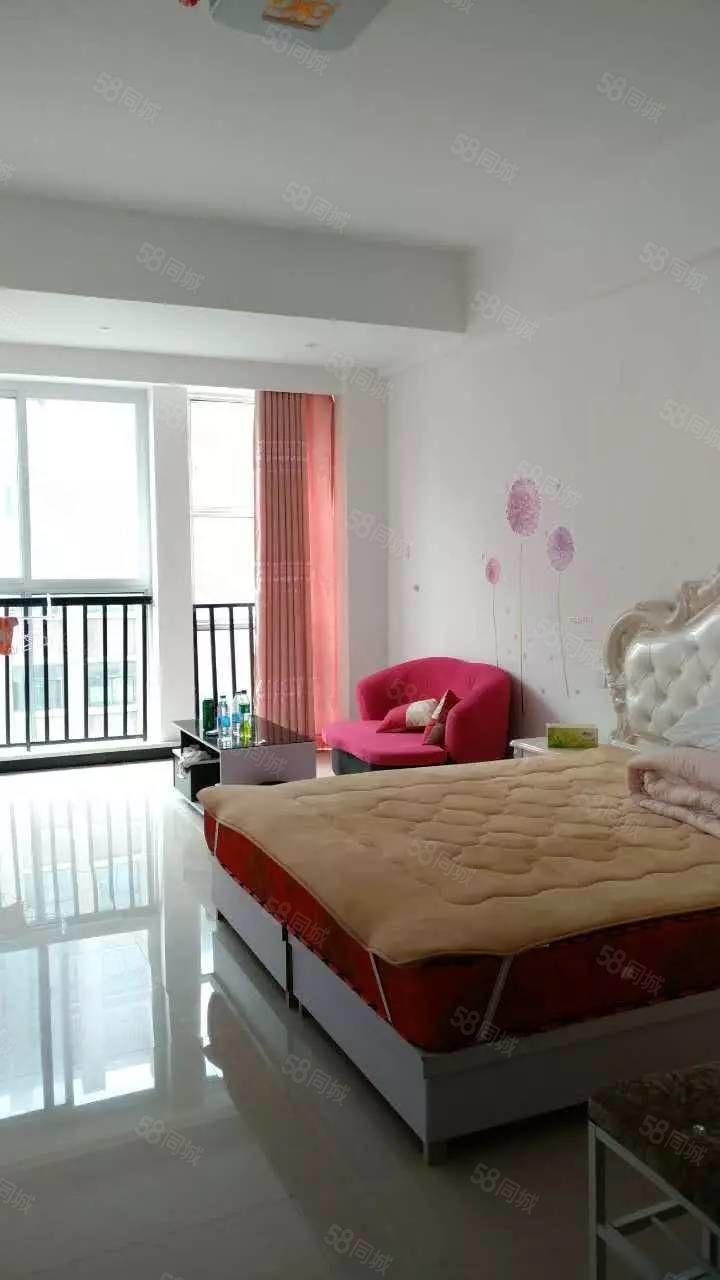 名门尚居单身公寓装修好未入住一口价20万,买就送家具家电