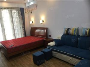 乐家房产红旗门派克中央城精装单身公寓拎包入住