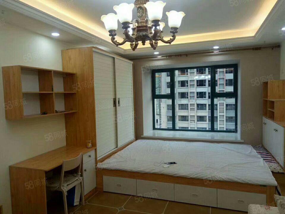 恒大御景湾54平公寓精装修一室一厅一厨一卫