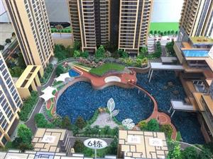 四季银座花园城125平精装洋房一梯两户带超大湖景阳台