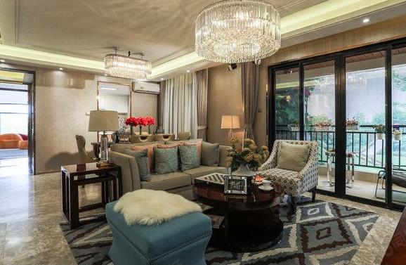 檀山府、純山頂別墅自帶星光泳池227平聯排一口價198萬