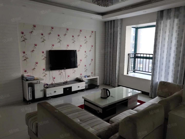 紫荆花园小区3室2厅2卫精装修,拎包入住,随时看房