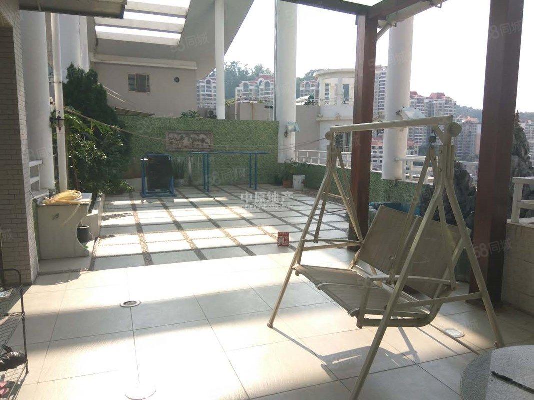 雍逸园豪宅顶复式带超大露台户型大气景观无敌急售