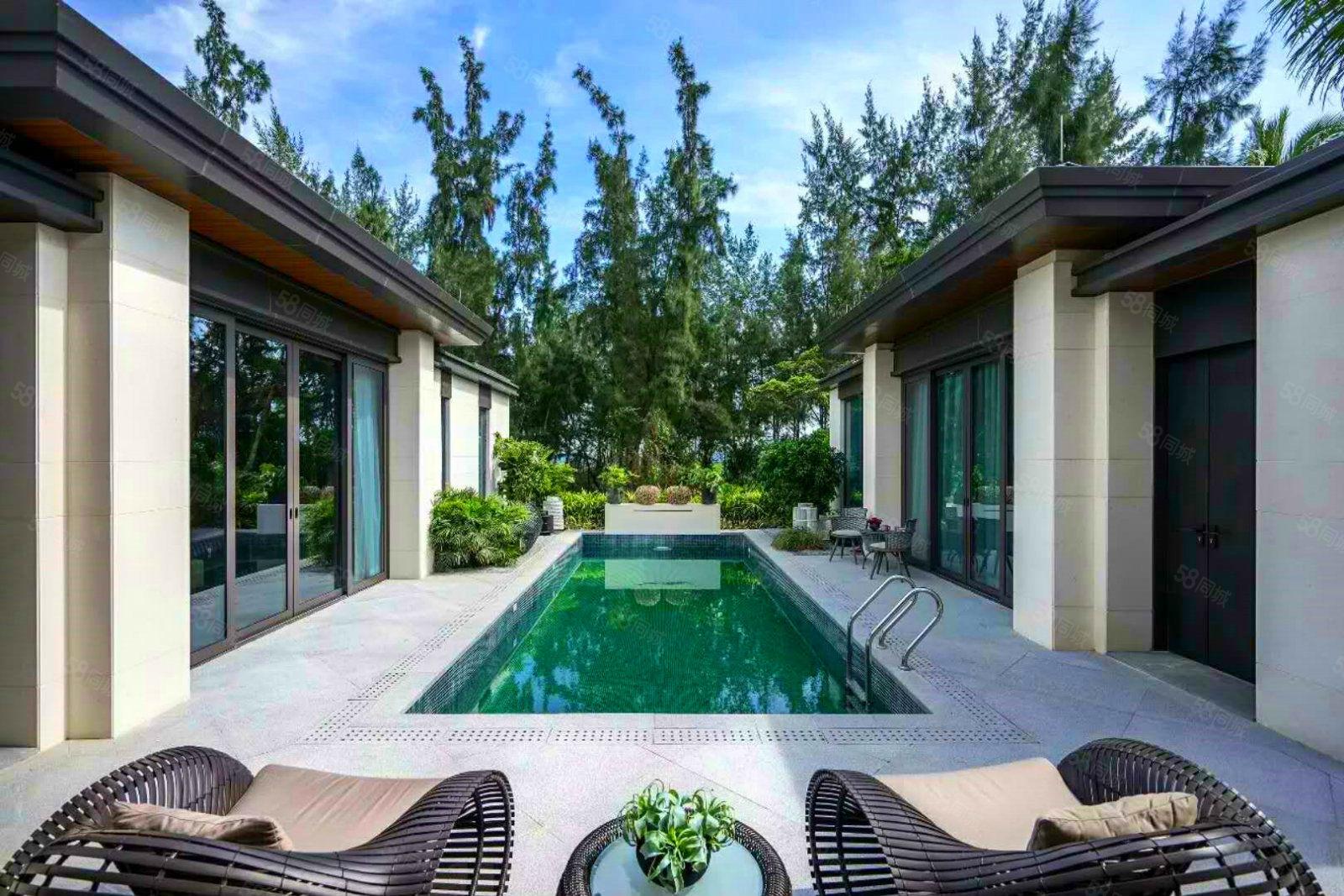 急售!富力湾真正沙滩别墅前后花园带泳池精装修拎包入住