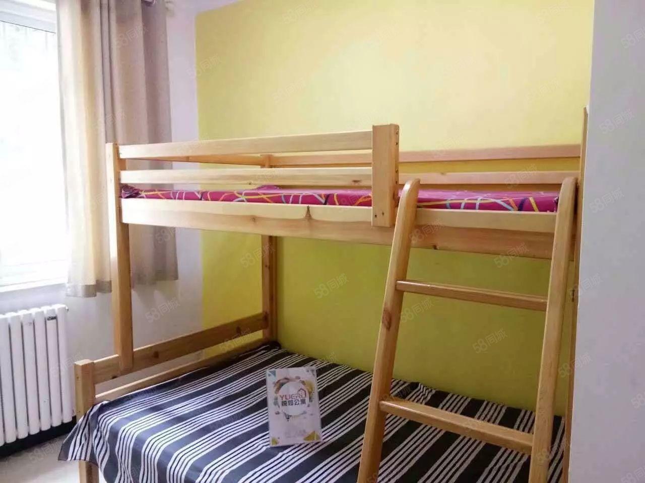 可月付绿地新都会双床一室干净舒适非中阶