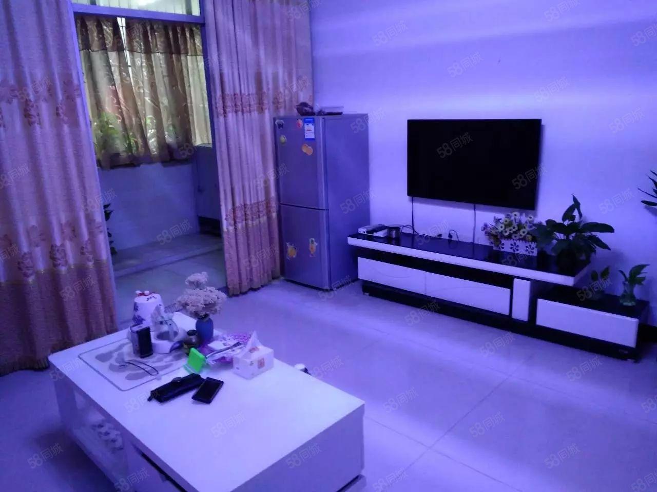 电江路正中两室精装修,家具家电齐全拎包入住,