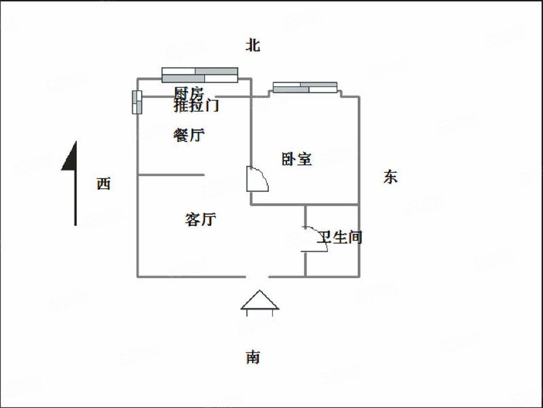 华宇蓝郡精装一室家具家电都有随时看房随时入住