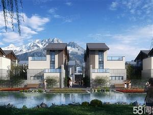雪山下独栋别墅5室两厅带大院子离古镇1000M