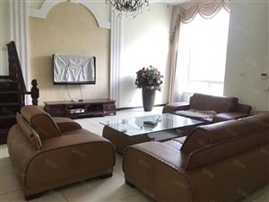 百福山庄联排别墅,边户,266平花园200平,精装带家具家电