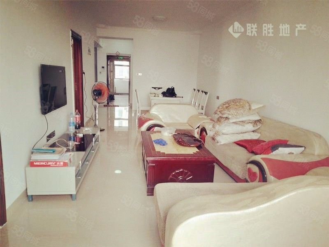 万达中央华城精装2房2500元/月家具全配