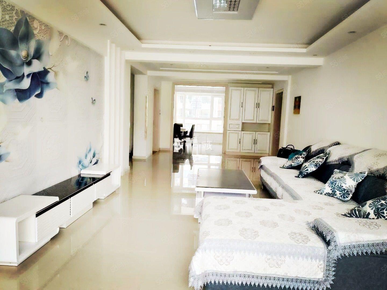 水岸帝景2室2厅1卫精装修家具家电齐全包物业取暖