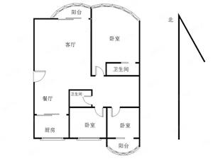 清华园沃尔玛旁边香格里拉对面生活方便精装三房