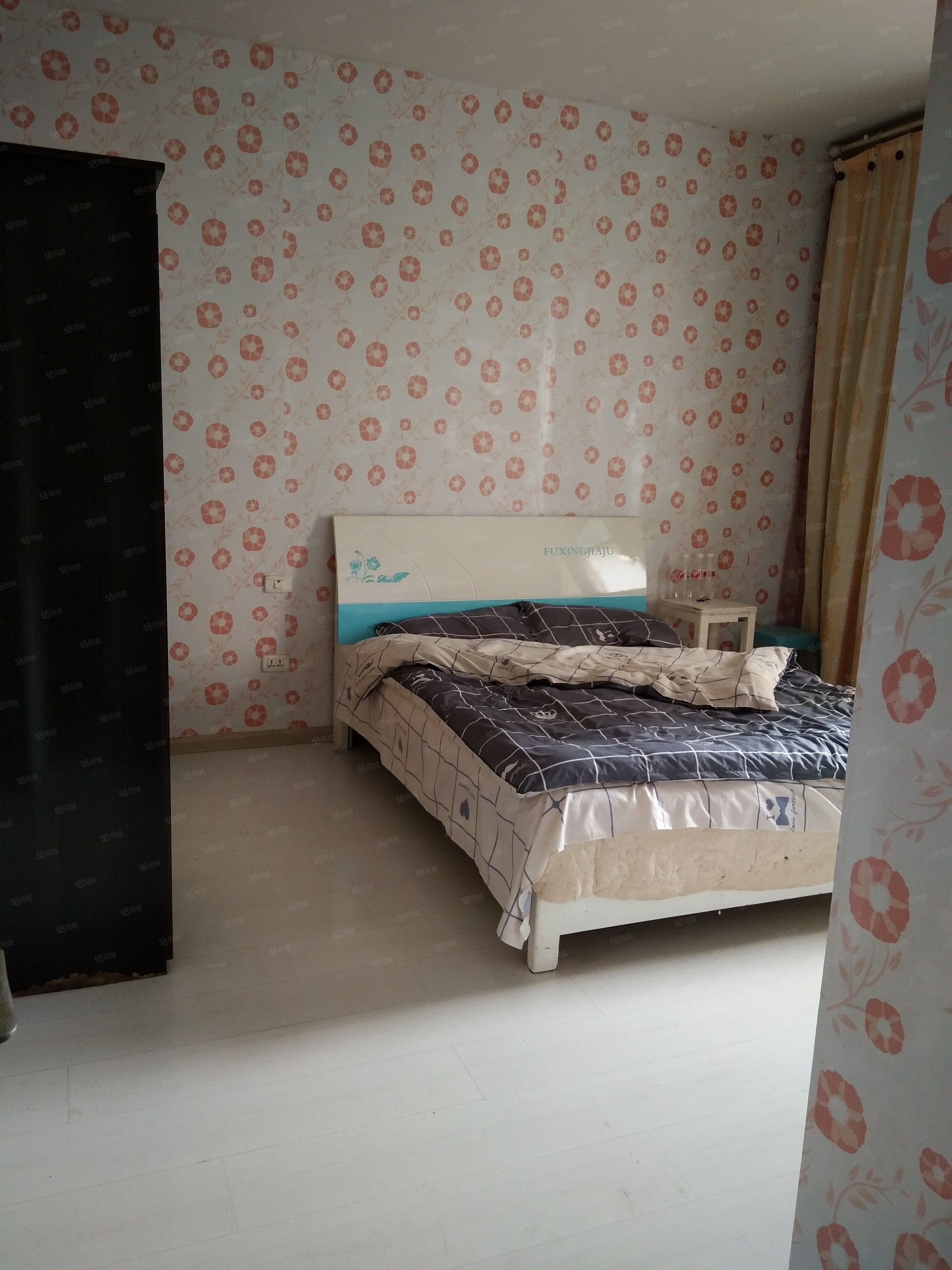锦江广场2室1厅家电齐全拎包入住