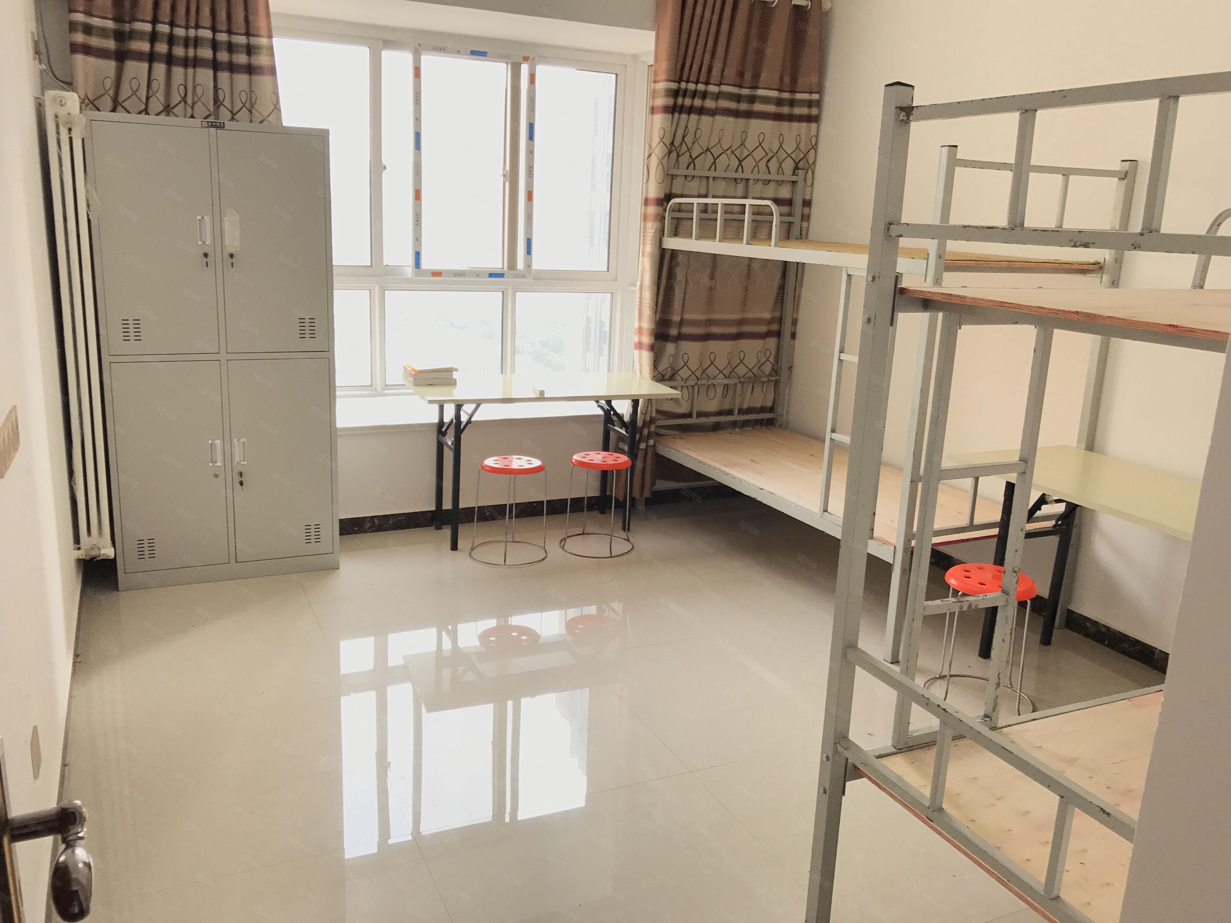 升龙又一城实习期床铺合租270,随时入住可月租。