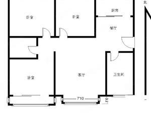 北城领秀城三室简单装修送仓房有房本满五年