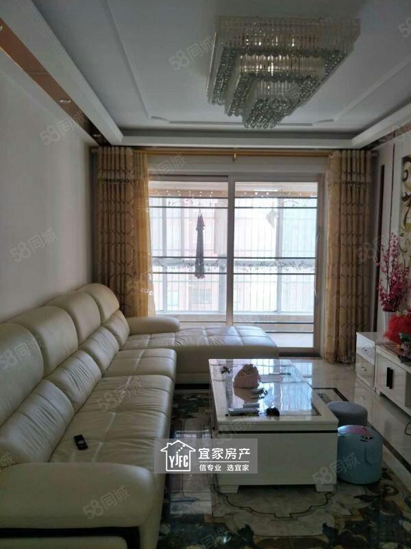 建设路中段,时代城一期三室两厅,家电家具齐全拎包入住!