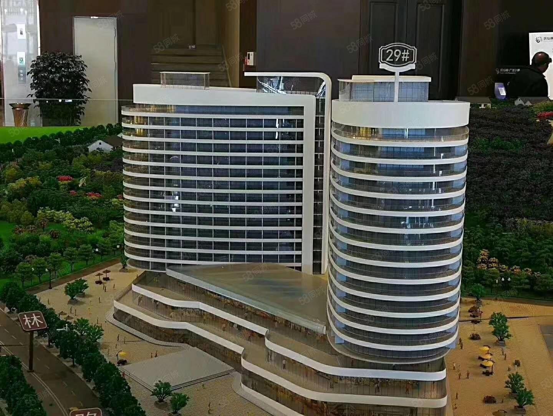 广龙小镇温德姆酒店一室一厅一卫精装修带家具家电湖景公寓