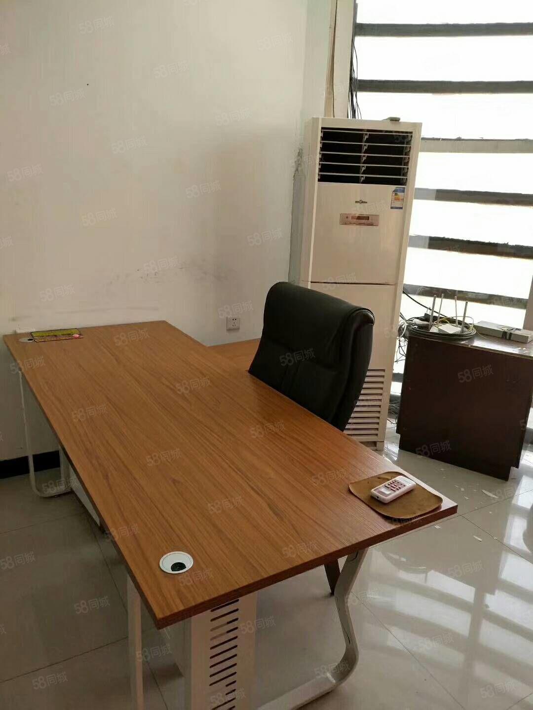 中州路房管局二楼办公室整租。精装修办公用品桌椅都在!年租7万