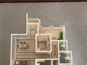 顶层带三个中小花园露台,红赫世家,储藏间,车位,顶名还贷