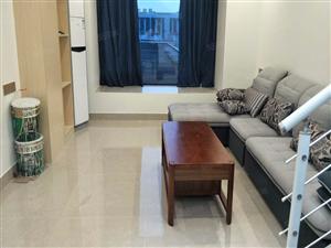 华科国际公寓式复式新装修家私家电比较齐全可拎包入住