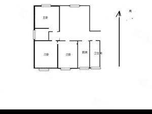 北环路上领秀城南北通透大三居中等装修有房本随时可议过户