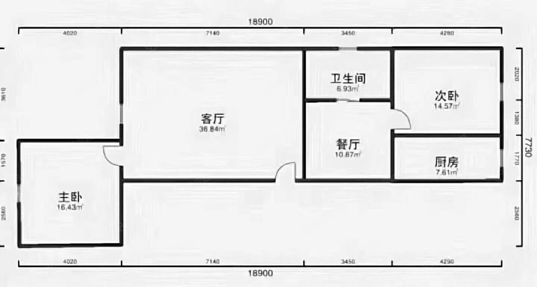 御龙苑电梯楼新小区89.79平27万全款一手房