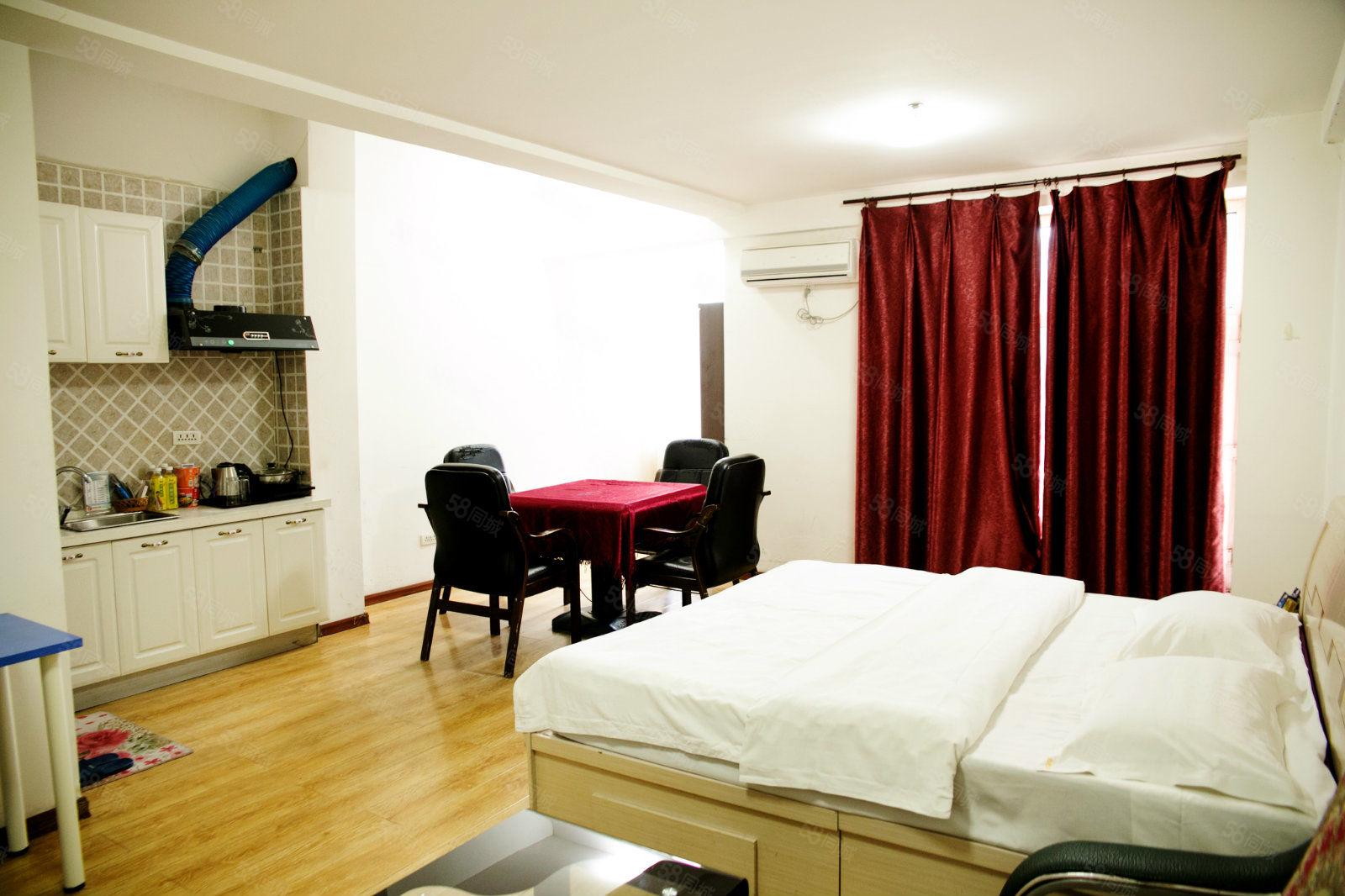 大润发公寓精装修拎包入住,位置优越,找工作机会多