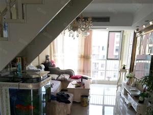 万达广场旁阳光欧洲城豪华装修六室空中别墅大平台中央空调
