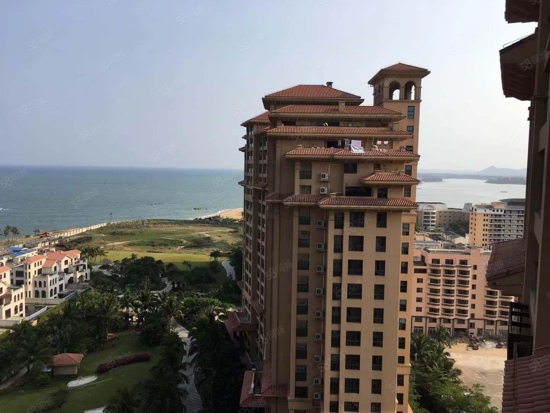 博鳌湾,超近海景套房,高楼层,俯视整个海平面,住在里面心情愉