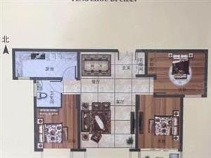 鹏洲丽城小三室准现房首付二十多万包更名单价低