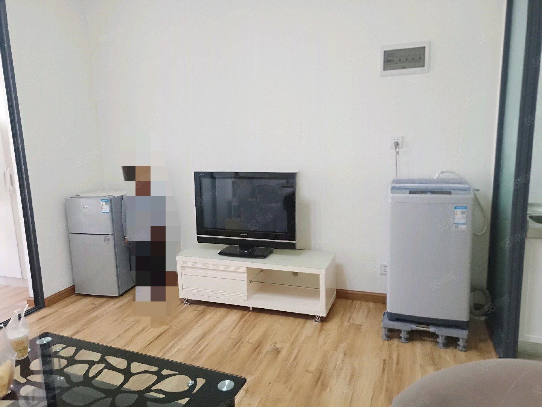 时代广场单身公寓精装修带全套家具1200手慢无