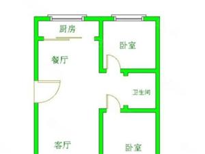 双鑫小区落地窗标准通厅此楼为4楼不把房山