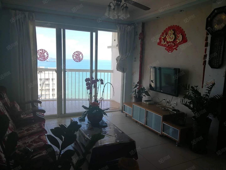 三亚湾《碧海蓝天》5房620万一线海景房金鸡岭路兰海花园