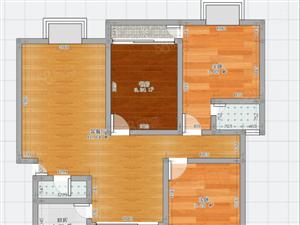 江边唯一多层小区,世纪城三室户型方正,位置好,价格美丽