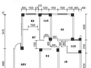 盛唐家园0公摊多层2楼东户室内面积非常大超值价格!!